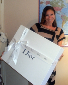 dior package arrival
