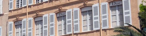 dior sttropez banner