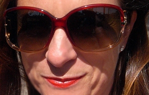 dior red volute sunglasses
