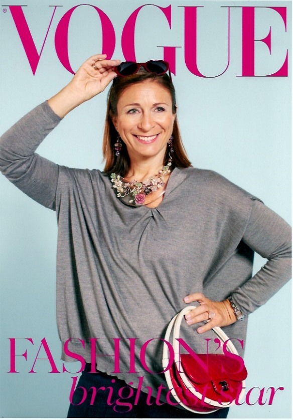 Debbie on the cover of Vogue